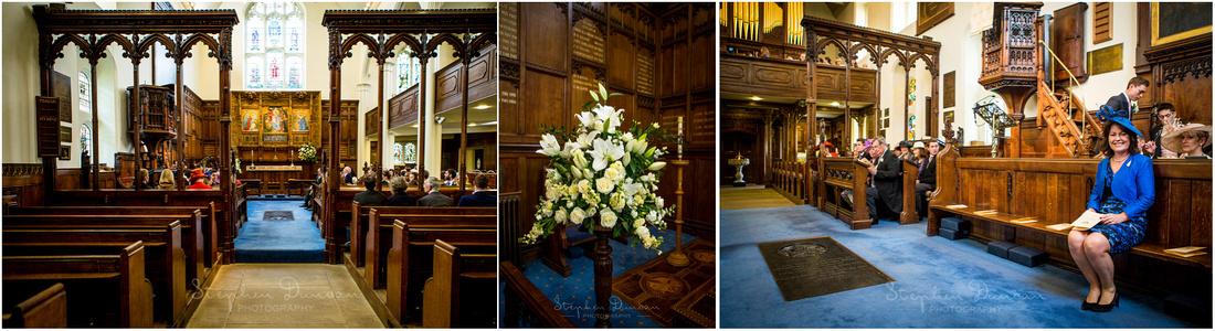 Interior photos of beautiful Christ's Chapel