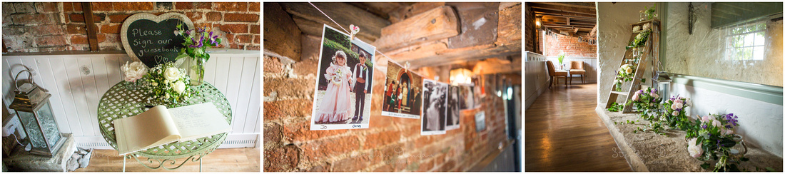 Soft like and exposed brick make for an atmospheric venue at any time of year. The Mill's working can be seen on the ground floor
