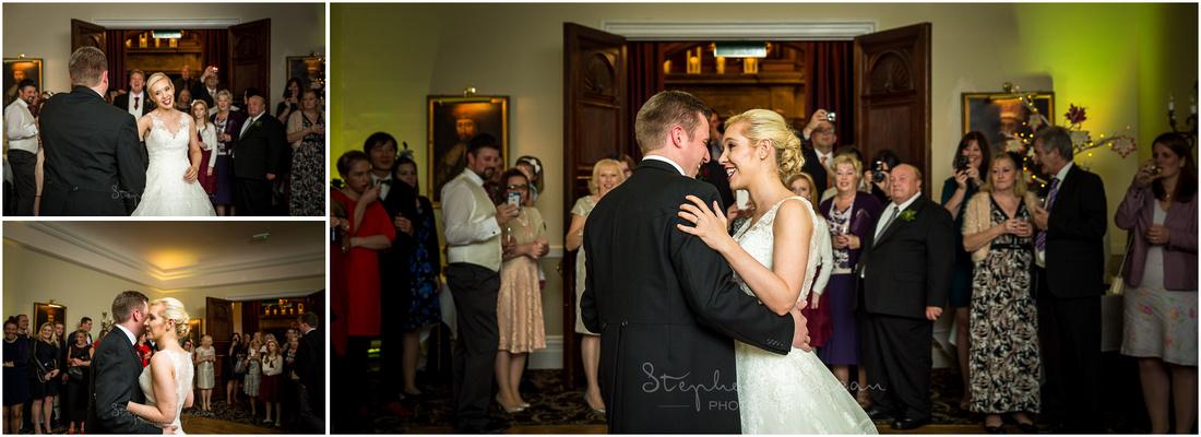 Couple on the dancefloor