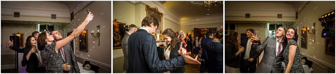Selfie action on the dance floor