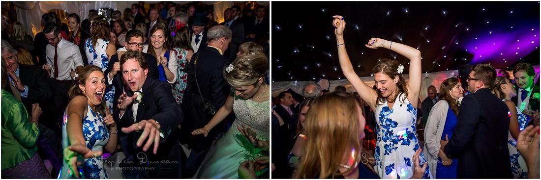 Bridesmaids hot the dancefloor