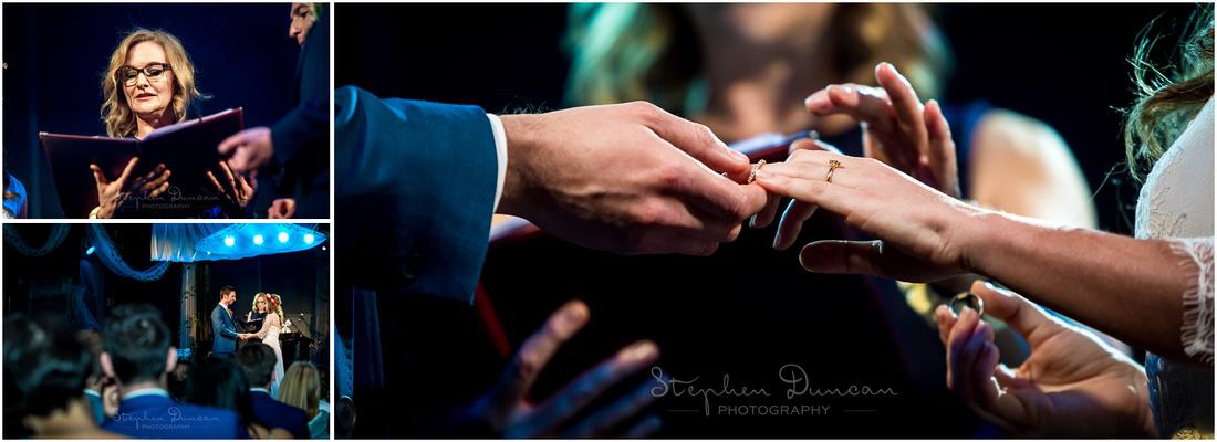 Susan Rae leads the humanist wedding