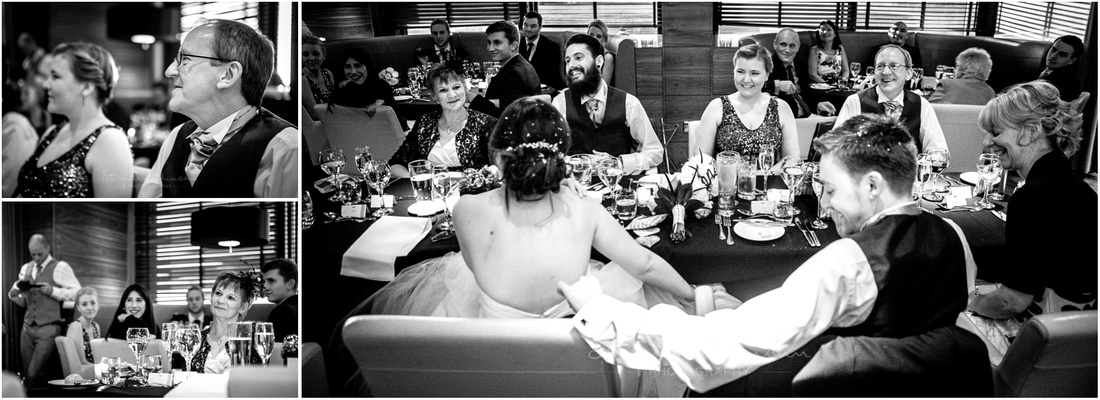 Documentary photos of guests during the speeches