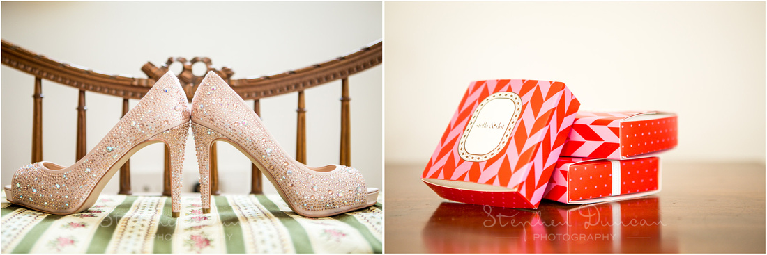 Shoes and jewellery gift boxes