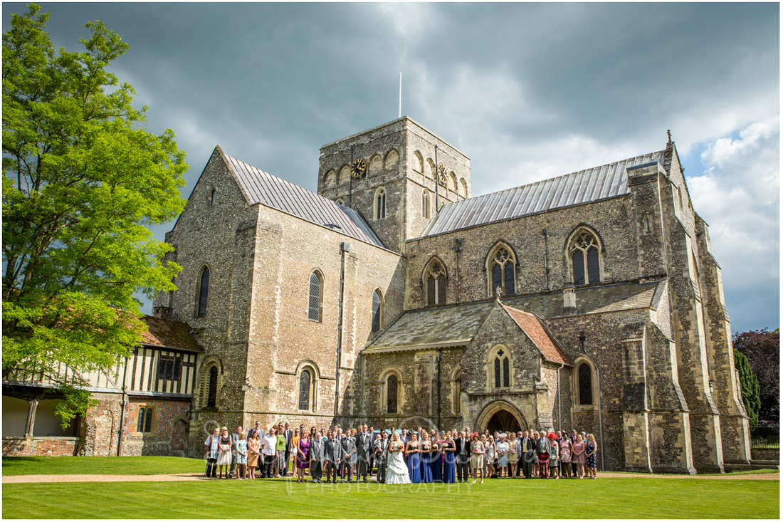 St Cross Hospital Wedding Photography