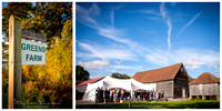 Reception at the Old Green Barn, Newdigate