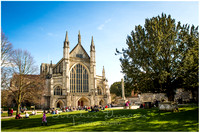 Winchester Cathedral Wedding Photography