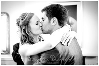 Elmers Court Wedding Preview - the kiss