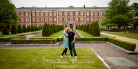Winchester Pre-wedding shoot in Pennisula Barracks with Stephen Duncan Photography Photo 7