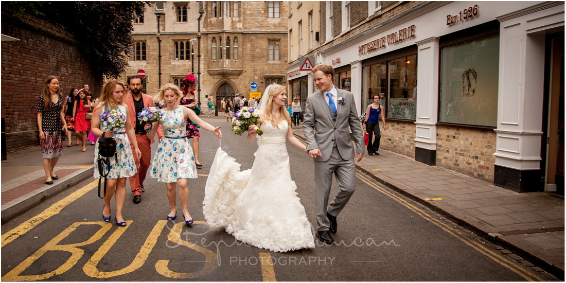 Sidney Sussex Cambridge Wedding Photography