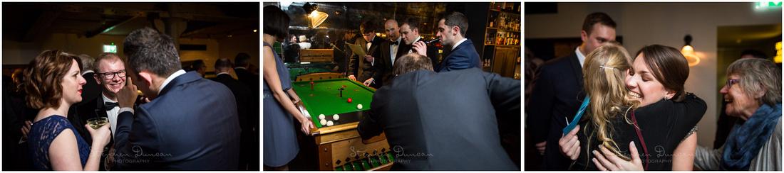 Bar billiards at Hixter